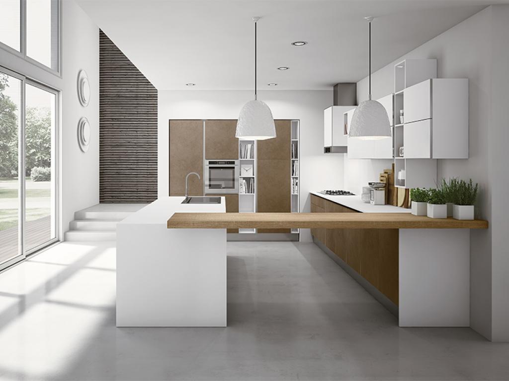 Кухня ARAN Miro colours